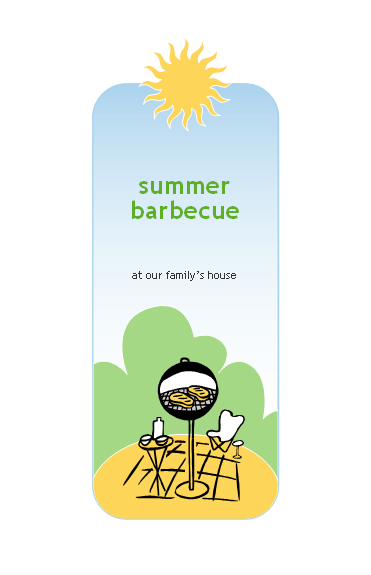 BBQ invitation Printable Invitations