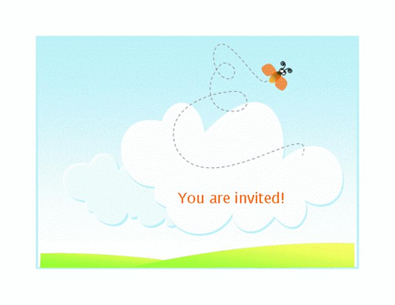 Summer Barbeque Invitation