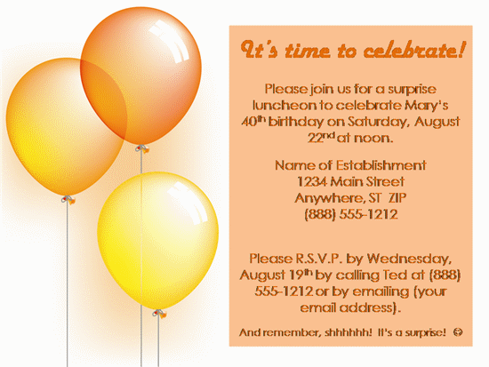 party invitation invitation birthday 5 close back to template details