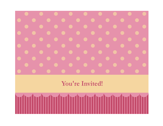 Download Free Printable Invitations of Generic invitation ...