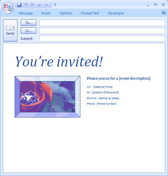 microsoft invitation templates free downloads