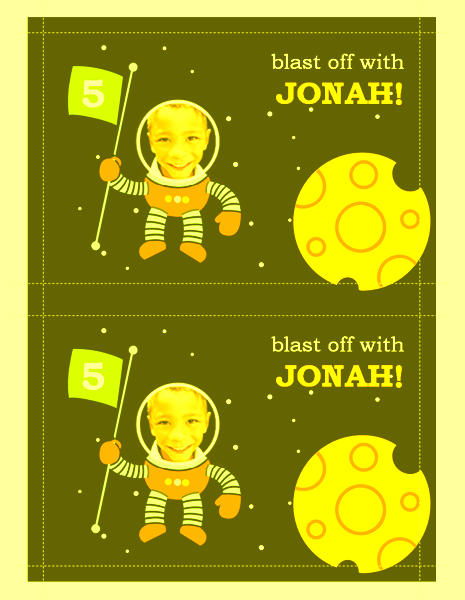 Download Free Printable Invitations of Space party invitation – Space Party Invitation