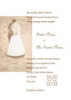 Red-color Wedding Invitation (juliet Design, For Commercial Printing)